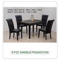 5 PCS MARBLE PROMOTION